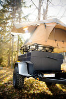 Small offroad expedition trailer