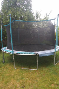 TRAMPOLINE FOR SALE!