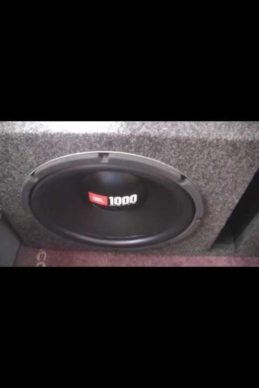 10 jbl 1000w sub mr2 in greenock inverclyde gumtree. Black Bedroom Furniture Sets. Home Design Ideas