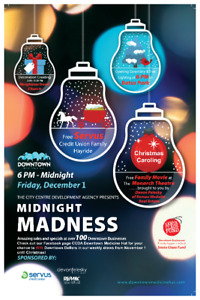 Midnight Madness Downtown