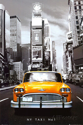 New York Taxi No. 1 Collections Poster Print, 24x36