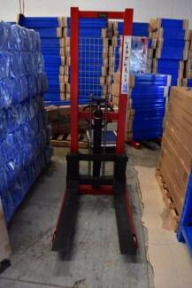 NEW Manual Hand Forklift Stacker Pallet Lifter 1 Year Warranty Sunnybank Brisbane South West Preview