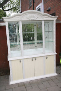 Display Buffet and Hutch