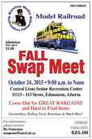 Annual Model Railroad Fall Swap Meet