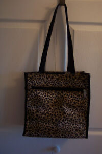 New Leopard Print Tote Bag At Reduced Price