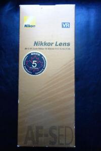 Nikon AF-S 70-300mm f/4.5-5.6 G IF ED VR Telephoto Zoom Lens