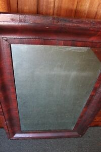 Large Antique Wood Framed Mirror     (VIEW OTHER ADS) Kitchener / Waterloo Kitchener Area image 3