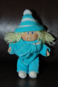 Vintage small (5 inch) Cabbage Patch Kid