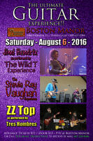 Tony Springer - Jim Hendrix / ZZ Top / SRV - 3 band show Aug 6