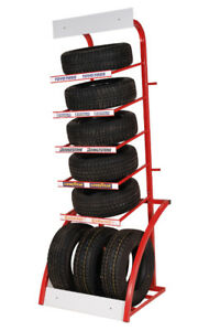 Deluxe Showroom Tire Display Rack - Martin Industries MSTD-R