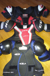 IP or Novice hockey chest protectors