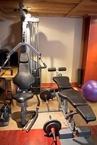 Home Gym set, Malibu Heavy Stack + Nautilus Select Tec Dumbbell