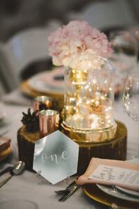 Wedding Decor | Rustic Glam
