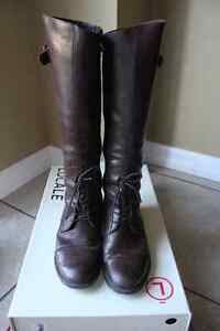 Locale Brown Riding Boots; European Size 38