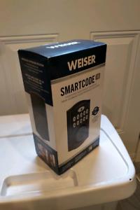 Weiser touch pad lock