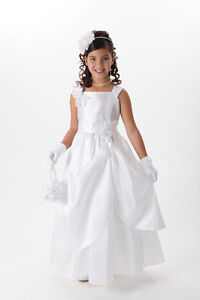 Flower girl dresses and first communion dresses