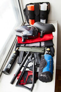 Great condition paintball gun lot for sale (tons of extras)