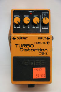 **WOW** Boss DS-2 Turbo Distortion Pedal (#17323)