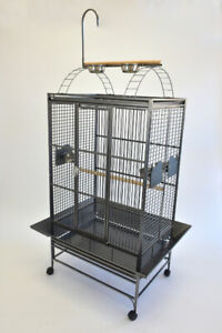 """32""""x23"""" Large Parrot Cage with Play Top for African Grey Amazon"""