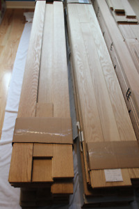 """3/4"""" Thick x 3 1/4"""" Wide Unfinished White Oak Flooring"""