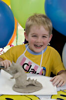 Birthday Parties with Clay for Kids