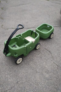 Kids Wagon, Kids Scooter, Childs Desk, and Childrens Turtle Pool