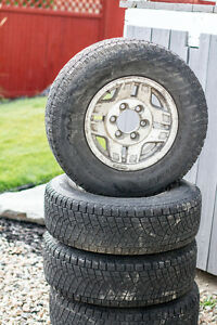 toyota rims with winter tires