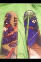 4FRNT Grom 147 twin tips downhill skis