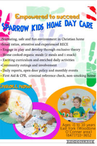 Sparrow Home Daycare (East York location)