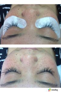 eyelash extention/tinting/lash perm/microblading brow/ nalis