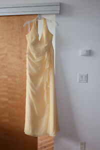 Yellow Bridesmaid/Prom Dress Worn Once