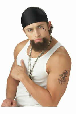Homie Costume (The Homie Goatee Gangster Facial Hair Brown New by California)