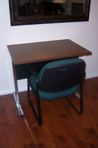 Desk with Arm Chair