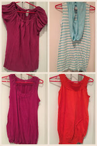 Lot of size Small Maternity tops- Used
