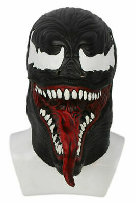 XCOSER Venom Mask Cosplay Hood Helmet Halloween Party Costume Movie Spider Adult
