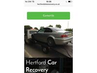 Hertfordshire Car Recovery & Breakdown