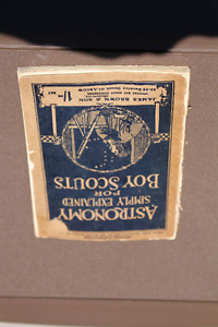 ANTIQUE 1926 BOY SCOUT ASTRONOMY BOOK