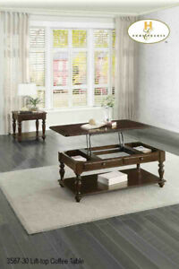 Solid Wood Coffee table with lift up Storage for only $299.