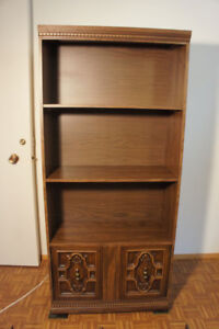 Large cabinet/bookcase with removable organizing inserts
