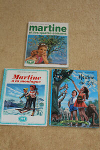 """ MARTINE "" BOOKS IN FRENCH : new low price !"