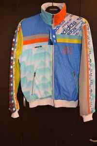Brand New Limited Edition Adidas 83-C Jacket Multi-colour Large
