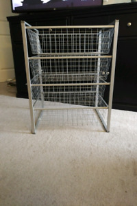 Ikea Antonius Frame and Wire Baskets