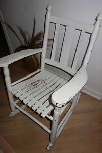 Chaise berceuse - Rocking Chair Antique