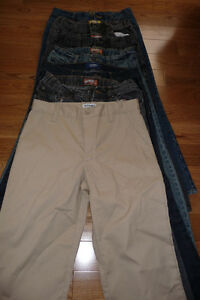 7 Pairs of Old Navy Size 12 Husky Jeans