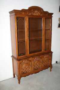 Classic French Provincial Hutch