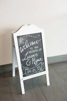 Chalkboard Writing and Design