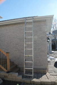 16' aluminum extension ladder