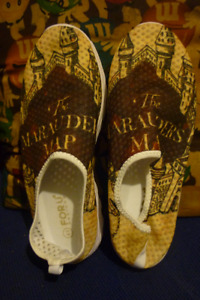Harry Potter Marauders Map Slipper Shoes