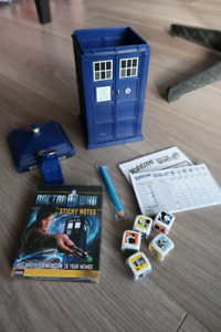 Doctor Who Tardis Yahtzee Set - Unused