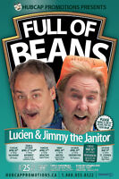 Comedy Tour - Lucien & Jimmy the Janitor: Full of Beans
